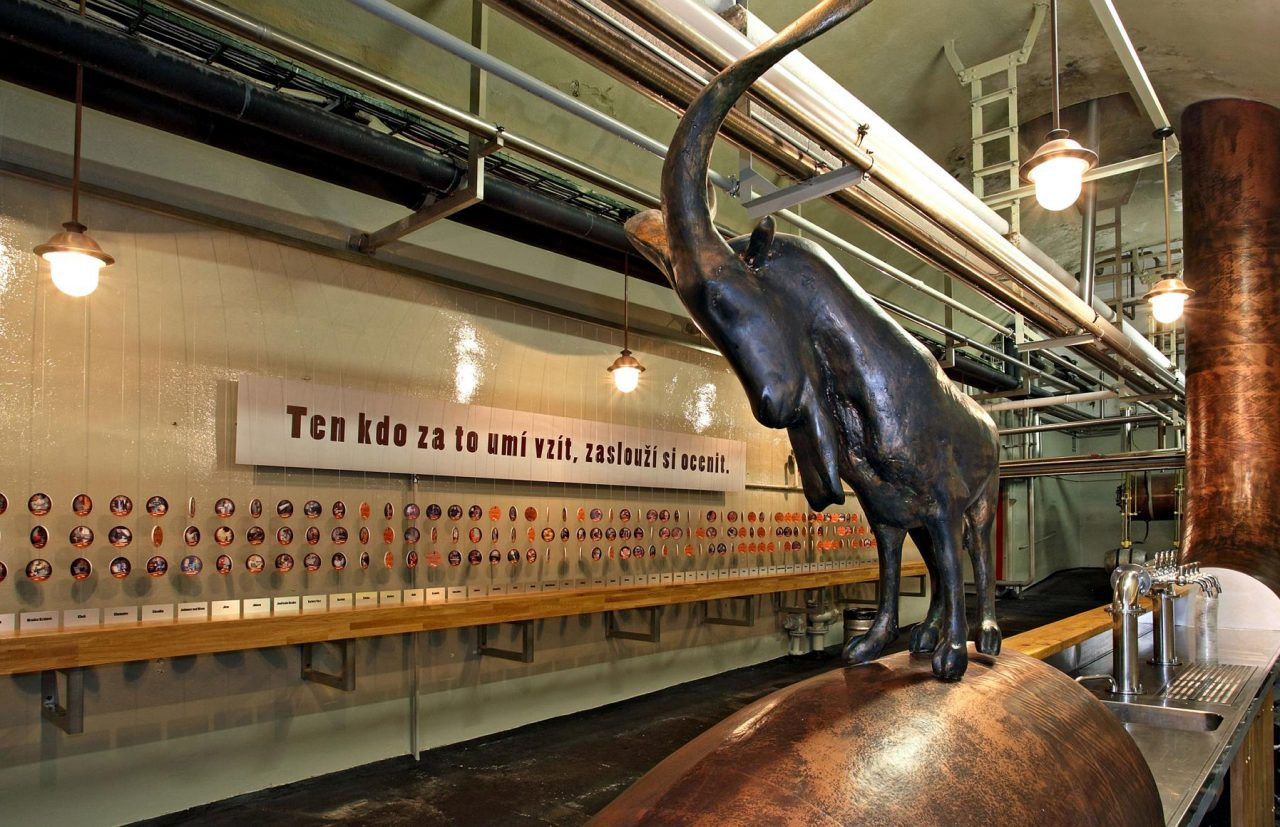 Kozel beer factory